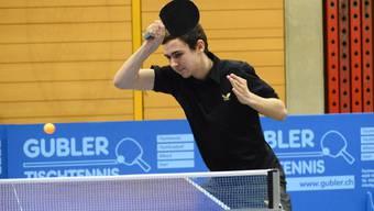 Überraschend dabei in den Viertelfinal: Lionel Weber.