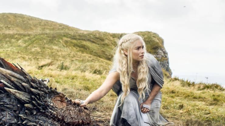"""Die Emmy-nominierte Emilia Clarke in """"Games of Thrones"""" (Archivbild)"""