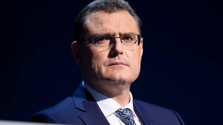 Unter Erwartungsdruck: Nationalbankchef Thomas Jordan.