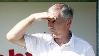FCA-Präsident Alfred Schmid: Sein Wunsch, die 12er-Liga, wurde nicht erhört