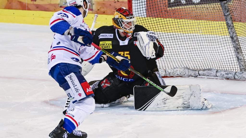 Im Penaltyschiessen für die ZSC Lions erfolgreich: Denis Kollenstein