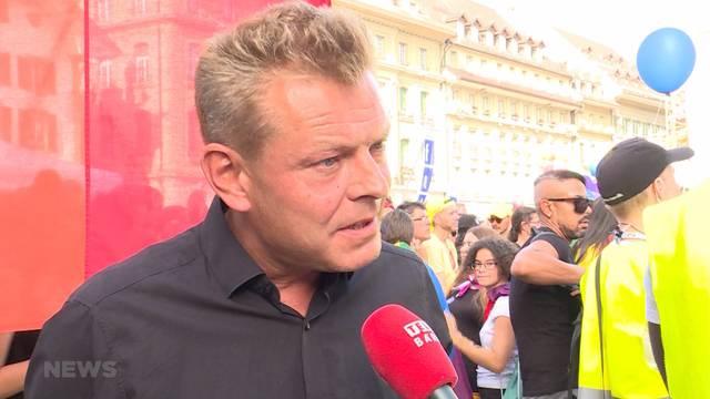 Gay-Pride-Redner Reto Nause unter Kritik