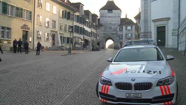 Hoher Besuch: Der Bundesrat kommt in der Kantonshauptstadt an