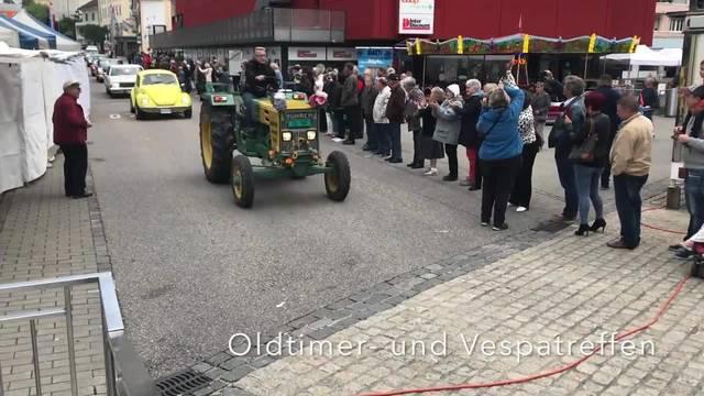 Oldtimer- und Vespatreff am Sonntag am Grenchner Fest 2018