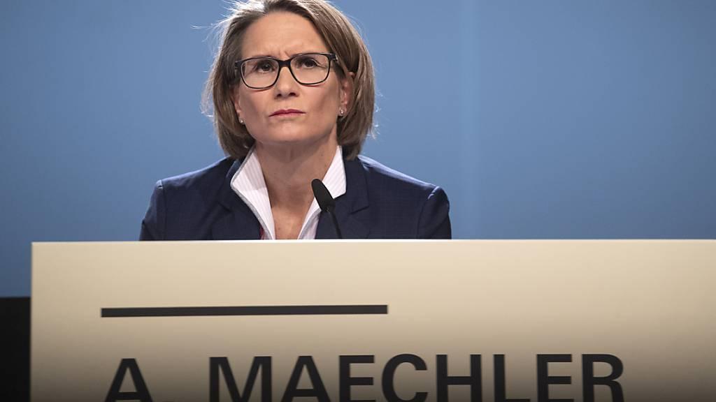 Die SNB will laut Direktoriumsmitglied Andréa Maechler mit Tests zu einer Digitalwährung am Puls der Zeit blieben. (Archivbild)