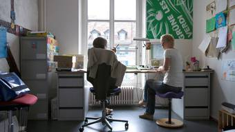 Grüne: In den Büros der Parteizentrale der Grünen in Bern wird es wohl bald etwas enger werden.