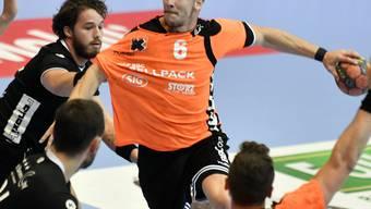 Der Schaffhauser Captain Dimitrij Küttel zeigte mit neun Toren eine starke Leistung (Archivbild)