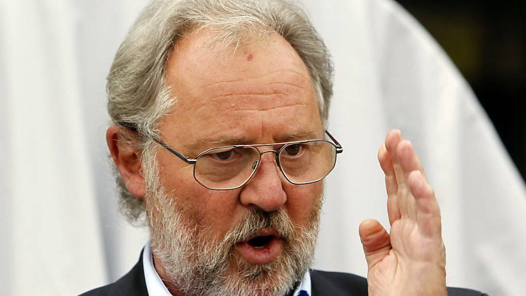 «Pilatus hat alles richtig gemacht»: Oscar Schwenk, Verwaltungsratspräsident des Stanser Flugzeugbauers Pilatus. (Archivbild)