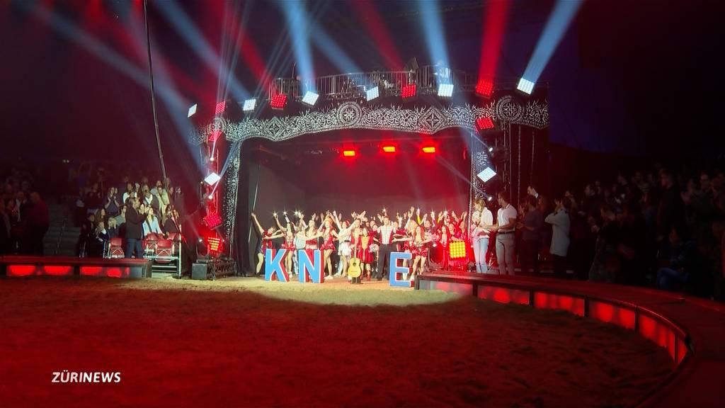 Circus Knie: Bewegende Premiere nach letztem Lockdown-Abbruch in Zürich