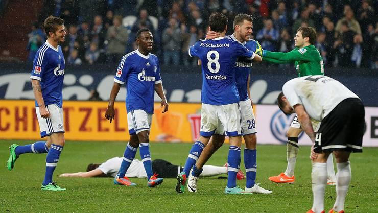 Schalke siegt zuhause gegen Eintracht Braunschweig mit 3:1
