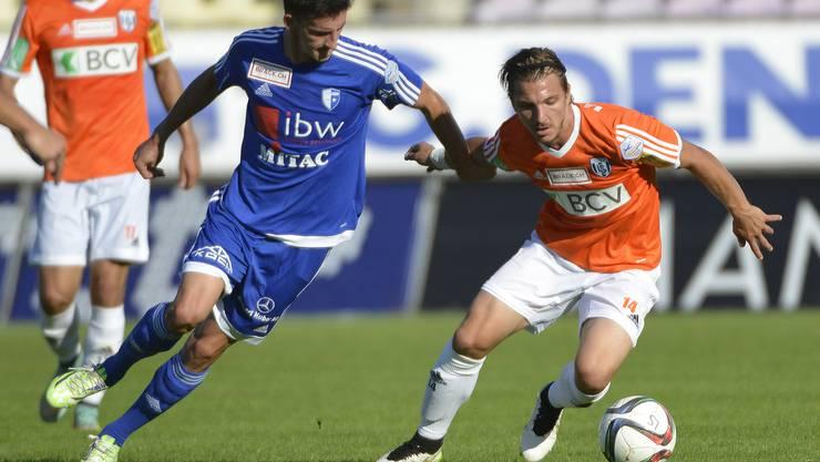 Kann sich der FC Wohlen erneut gegen Biel durchsetzen?