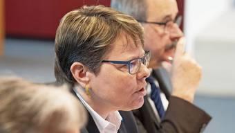 Ein Foto vom letzten Jahr, weil gestern ein Video-Chat stattfand: CEO Marianne Wildi, Verwaltungsratspräsident Gerhard Hanhart (r.) und Asset-Management-Leiter Reto Huenerwadel.