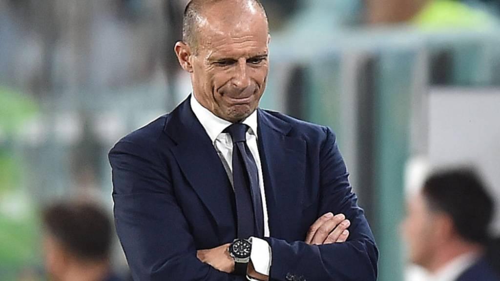 Massimiliano Allegri ist mit Juventus noch nicht auf Touren