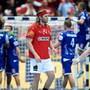 Konsternation bei Handballstar Mikkel Hansen nach dem EM-Aus.