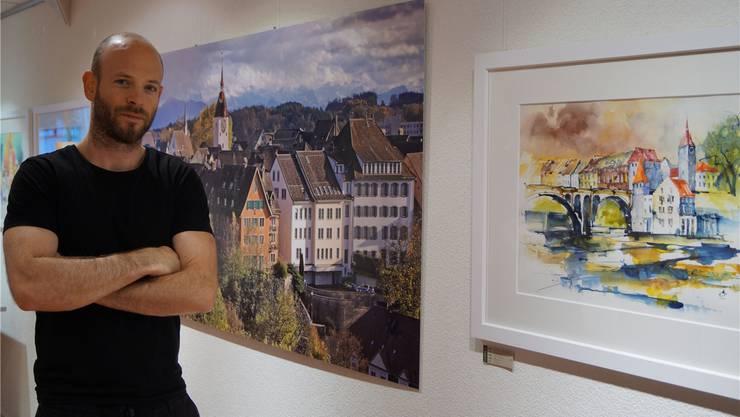 Dominique Andereggen im neuen Lokal an der Marktgasse. sl