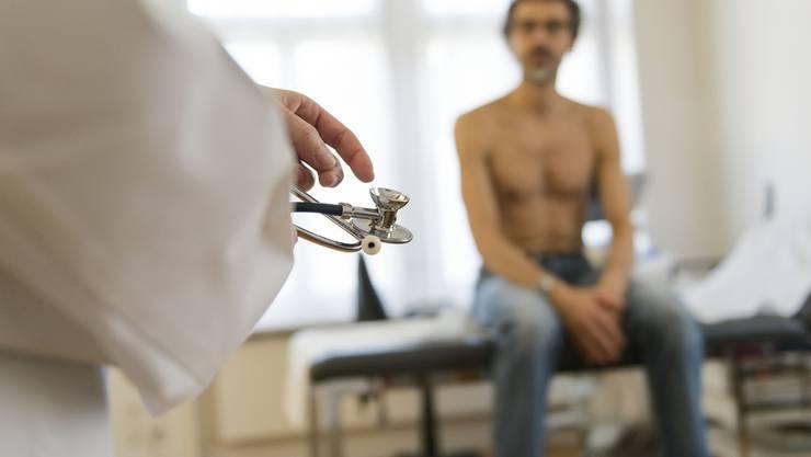 In einer Zürcher Arztpraxis verliert ein Patient die Beherrschung (Themenbild).