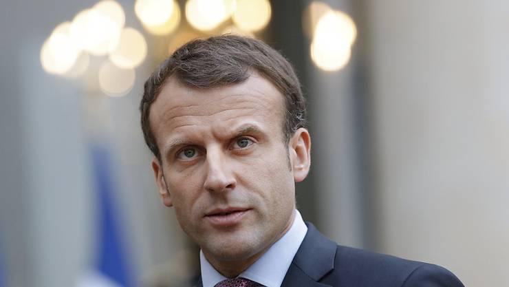 Wird für seine besonderen Verdienste um Europa mit dem Aachener Karlspreis ausgezeichnet: Frankreichs Präsident Emmanuel Macron. (Archiv)