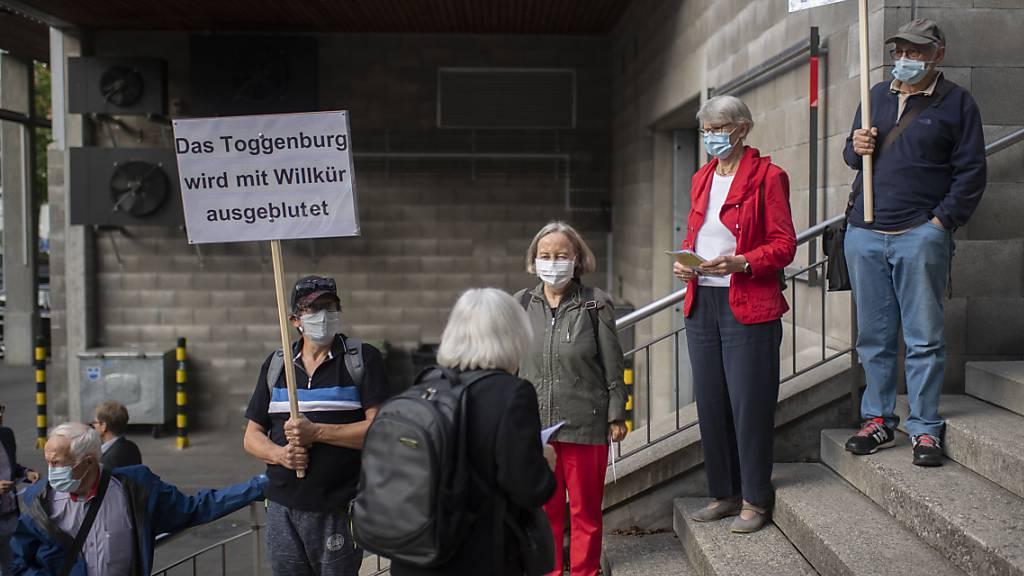 Spitalvorlagen: Gegner gescheitert