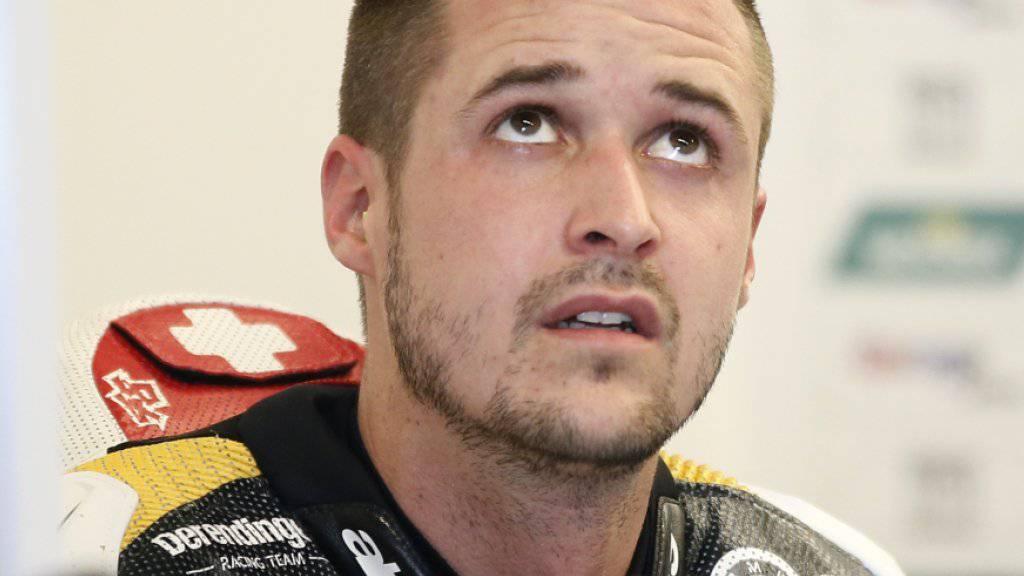 Tom Lüthi plant mit einem Start in Silverstone