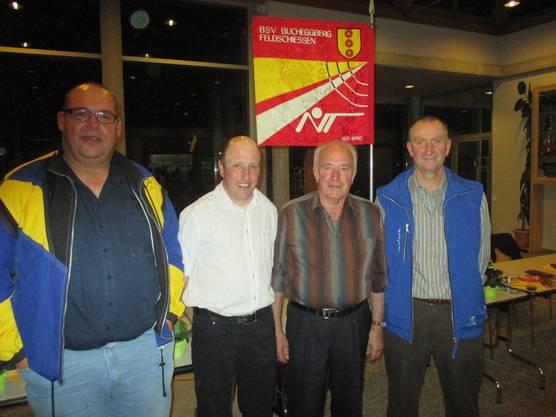 DV 2014 v.l. Andreas Christen, Jürg Arni, Hans Flühmann, Bernhard Stuber.JPG