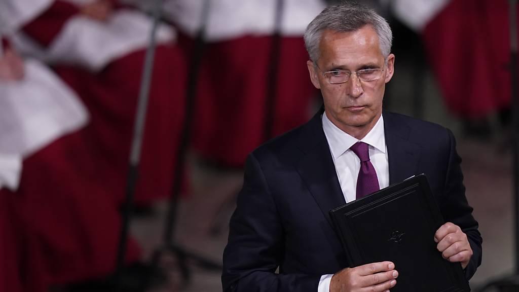 Jens Stoltenberg, Nato-Generalsekretär. Foto: Torstein Bøe