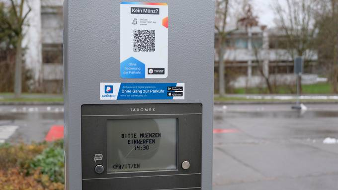 Digitales Bezahlen an Dietiker Parkuhren