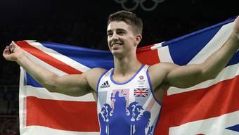 Max Whitlock schrieb in Rio britische Olympia-Geschichte