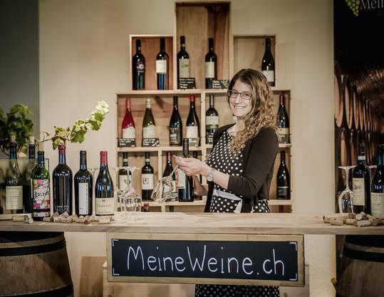 ... seiner Frau Michela Iten (32) ...