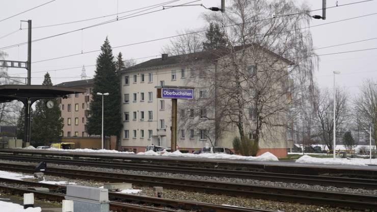 Das Zentrum für Asylsuchende in Oberbuchsiten. (KEYSTONE/Adrian Reusser)
