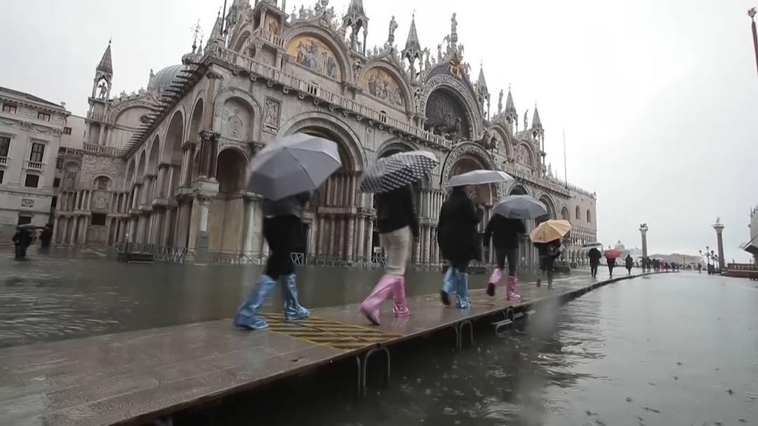 Hochwasser in Venedig fordert erste Todesopfer