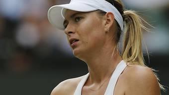 Enttäuscht nach ihrem Wimbledon-Out: Maria Scharapowa