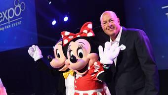 Bob Chapek, der bisher die Freizeitpark-Sparte führte, ist neuer Chef von Disney. (Bild: Getty Images)