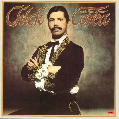 Chick Corea: My Spanish Heart (1976) Mit Stanley Clark, String und Brass Section.