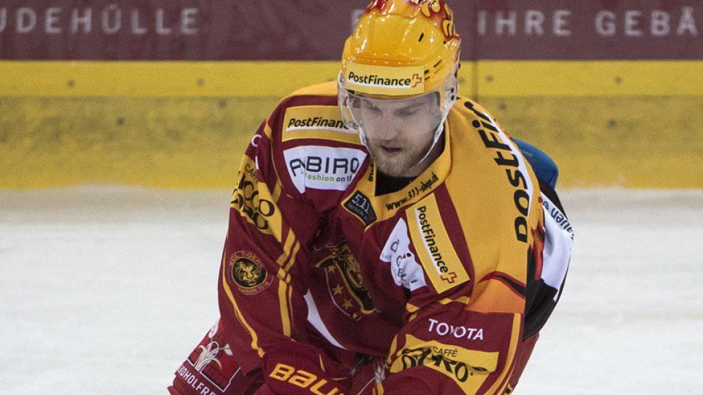 Abschied von Langnau: Anton Gustafsson, bester Torschütze der SCL Tigers, wechselt auf die nächste Saison zu Fribourg