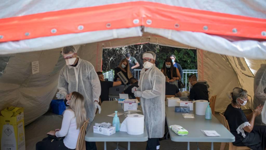 Mediziner fordern «drastische Massnahmen» in Frankreich gegen Corona