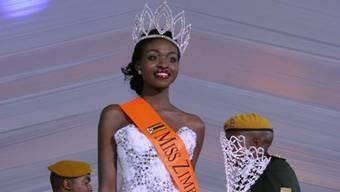 Muss die Krone wieder abgeben: Miss Simbabwe Emily Kachote