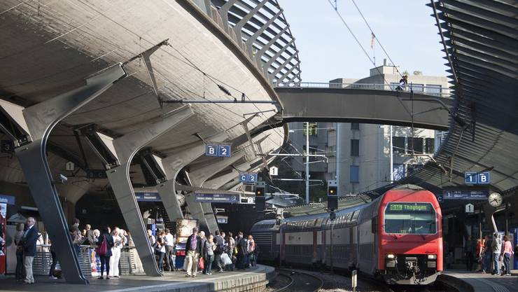 Das Sorgenkind der SBB: Der Bahnhof Stadelhofen in Zürich.