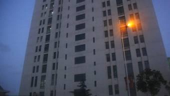Von diesem Shanghaier Hochhaus aus soll eine Hackergruppe im Auftrag der chinesischen Armee Agriffe auf ausländische Firmen und Regierungsbehörden vornehmen (Archiv)