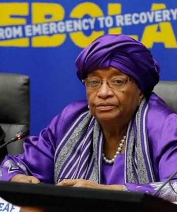 Ellen Johnson Sirleaf ist seit dem 16. Januar 2006 Präsidentin von Liberia. Sie ist die erste Frau, die durch eine Wahl das Amt eines Staatsoberhauptes in Afrika erlangte. 2011 erhielt sie den Friedensnobelpreis.