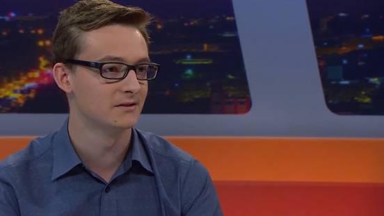 Juso-Co-Präsident Sandro Covo: «Mein Vater wäre von der Millionärsinitiative auch betroffen»