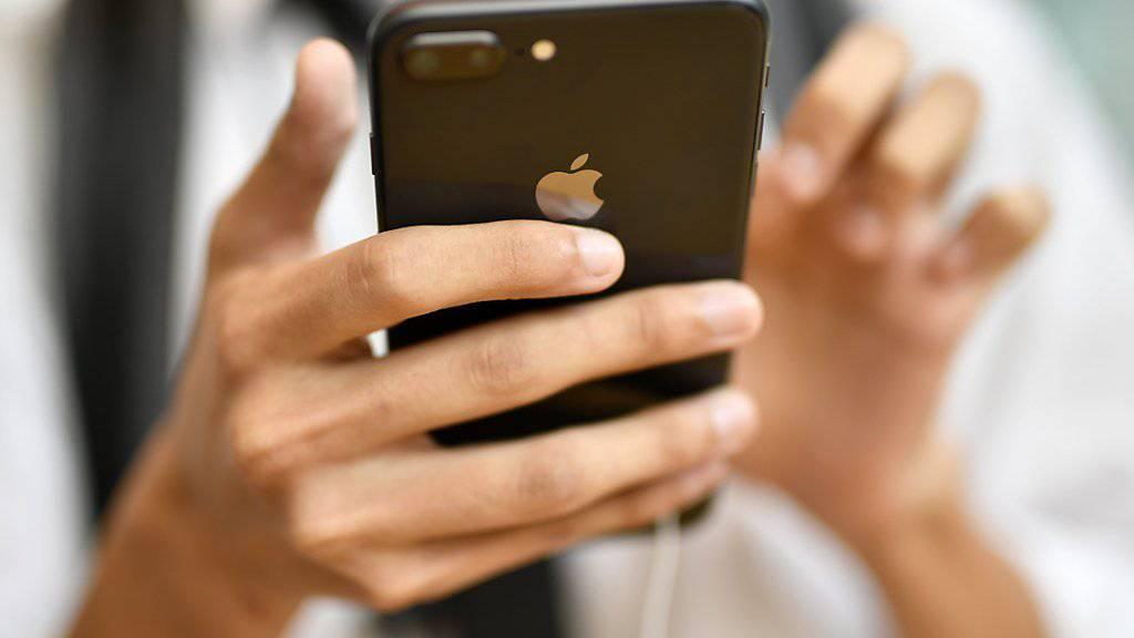 Die häufigsten Suchanfragen in der Schweiz bei Google betrafen das iPhone 8.