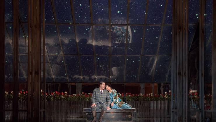 Eine Szene aus «Ioanta», der letzten Oper von Tschaikowsky.