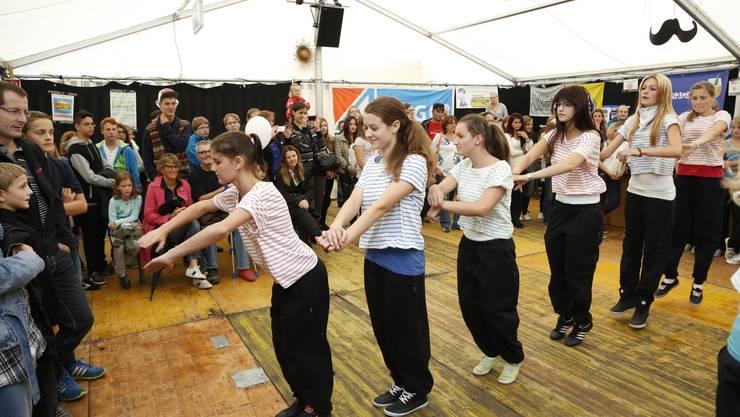 2012 gab es im Jugendzelt unter anderem einen Hip Hop-Danceworkshop.
