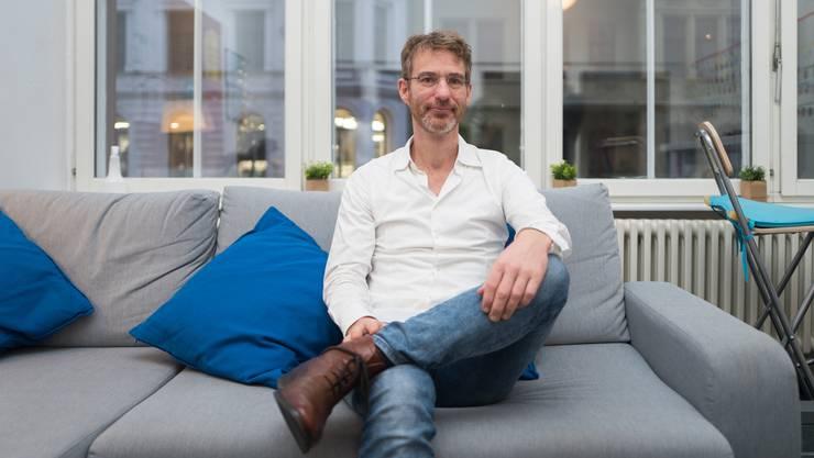 Kulturwissenschafter Markus Witte «Ein Start-up zu gründen, ist ja auch für Informatiker nicht üblich. Start-up-Gründer sind per se Ausnahmen.»