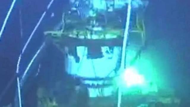 Nach fünf Stunden ist die Versiegelung des Bohrlochs mit Zement beendet (Archiv)