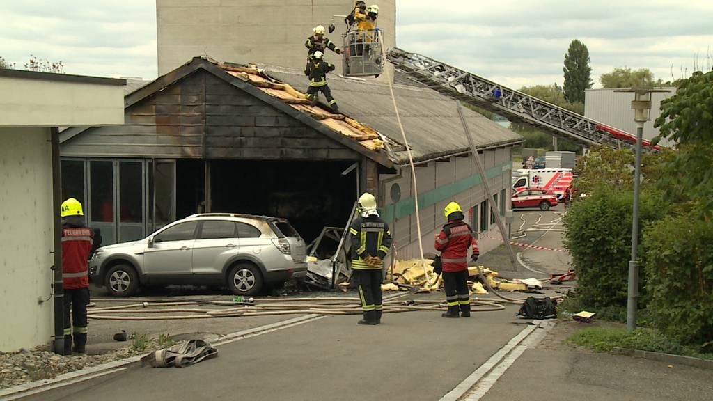 Garagenbrand in Ermatingen (TG): 51-jähriger mit Rega ins Spital geflogen