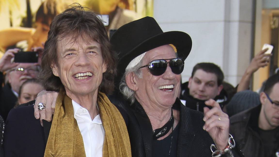 Rolling Stones Keith Richards Mick Jagger