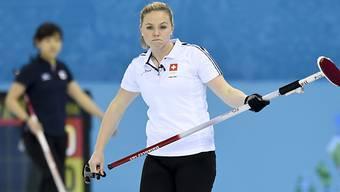 Alina Pätz hier an den Olympischen Spielen 2014) will die Schweiz dereinst mit der von ihr geführten Equipe von Baden vertreten