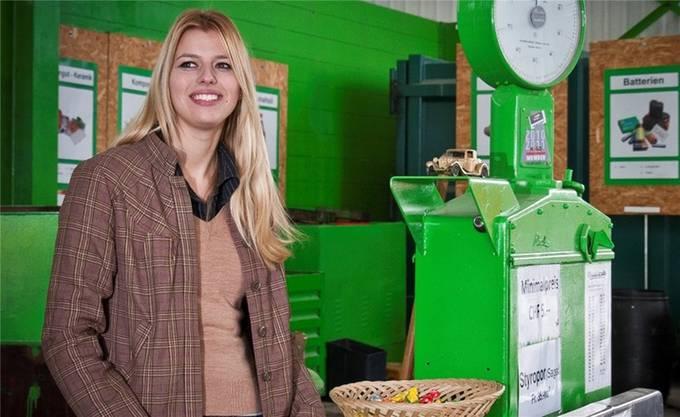 Karin Bertschi, Recycling-Unternehmerin.