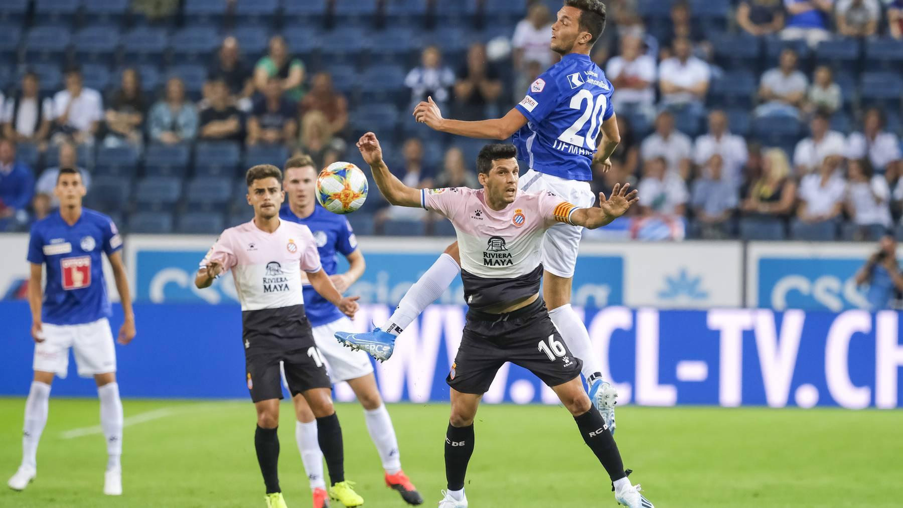 FC Luzern verliert gegen Espanyol Barcelona